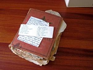 En gammal receptbok