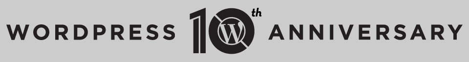 WordPress fira 10 år
